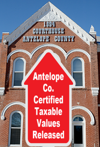 Antelope County Valuations Up