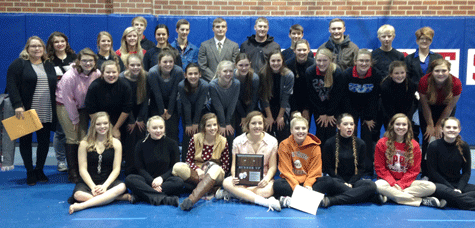 The PJCC One Act team with their 2nd place plaque. Submitted