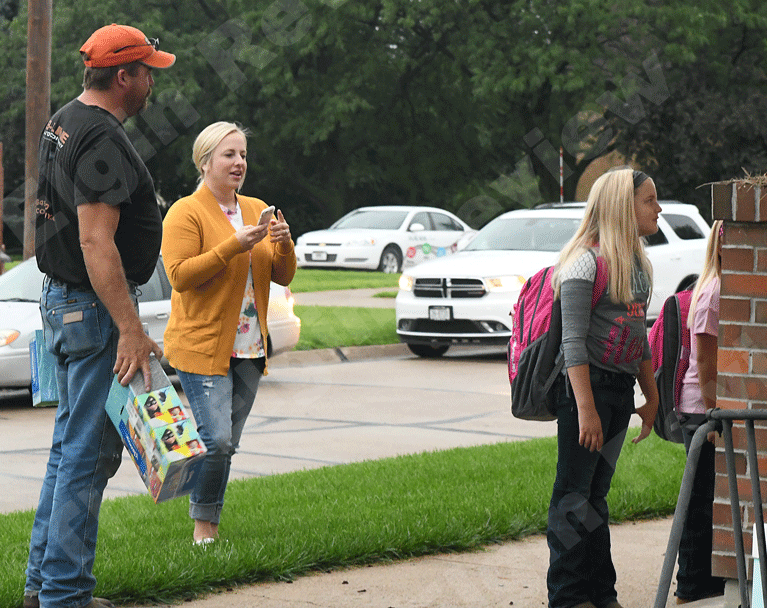 First day of school at Elgin Elementary
