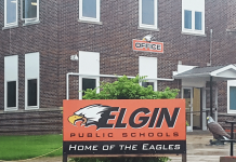 Home of the Eagles, photo by The Elgin Review