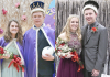 Homecoming Royalty Elgin High School Pope John XXIII Central Catholic High School EPS PJCC Homecoming EPPJ Wolfpack Maddie Schrage Kyle Schumacher Ally Wemhoff Hunter Reestman
