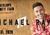 Michael Ray Elgin, Nebraska Antelope County Nebraska news Antelope County Fair concert Antelope County Ag Society