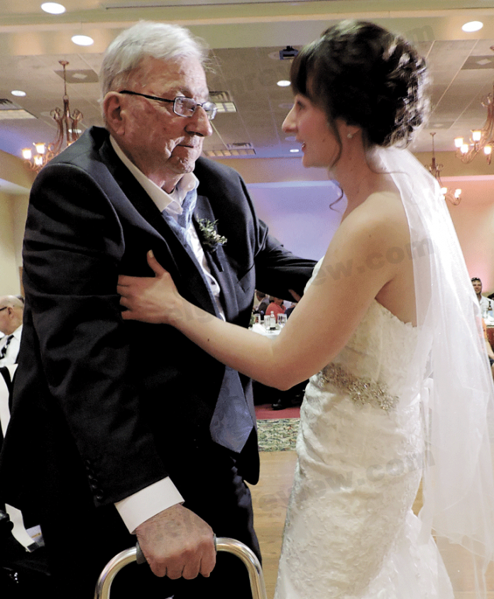 An extra-special dance on a special day.