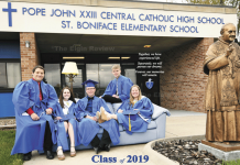Elgin, Nebraska Antelope County, Nebraska Pope John XXIII Central Catholic High School PJCC graduates graduation 2019