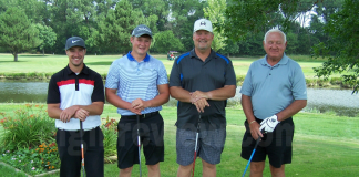 Seventy-two golfers participated
