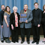 "Shavliks Named ""Roncalli Award Winners"" For Continued Support Of PJCC. The Elgin Review"