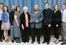 """Shavliks Named """"Roncalli Award Winners"""" For Continued Support Of PJCC. The Elgin Review"""