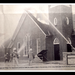 Landmark Elgin United Methodist Church gutted in fire 20 years ago.