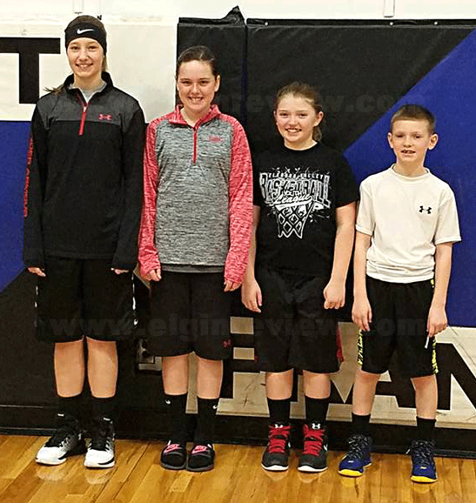 Elgin youth make it an annual event, advancing in KC Free Throw Contest. The Elgin Review