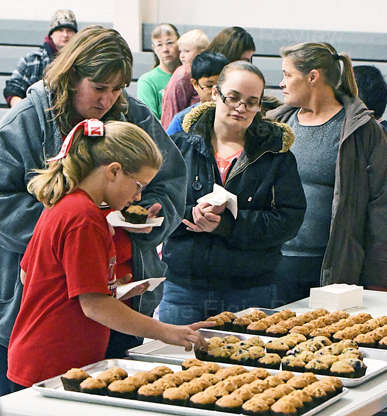 Elgin Nebraska Antelope County Nebraska Elgin Elementary School EPS Wright Muffins with Mom